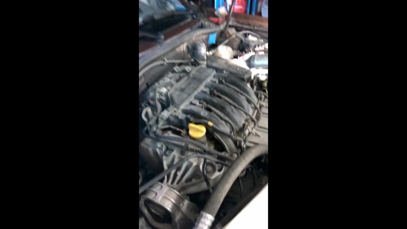 Замена ГРМ без спецухи Renault Duster 2 0 F4R часть 3