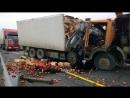 Жесткие Аварии с грузовиками! Будьте осторожны на дорогах