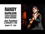 Jazz Tuesdays with Randy Napoleon, Carter Graham, Kazuki Takemura, Jeff Shoup (81418)