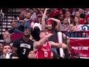 Rockets Game Dance Battle - Usher Goes Off