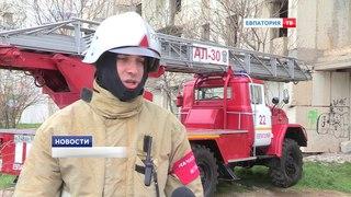Экстренные службы города спасали людей из горящего дома