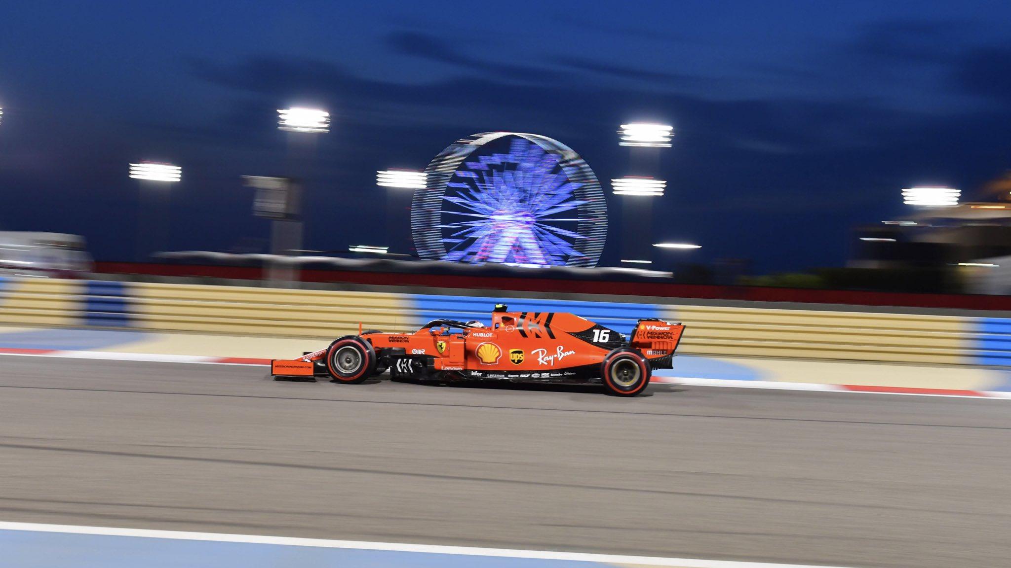 Шарль Леклер выигрывает квалификацию гран-при Бахрейна 2019 года