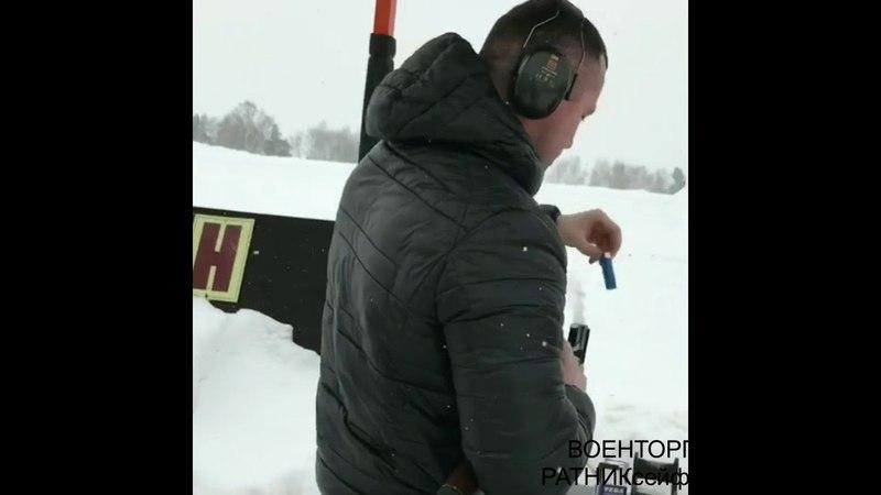 Стрельба в тире подготовка к весенний охоте