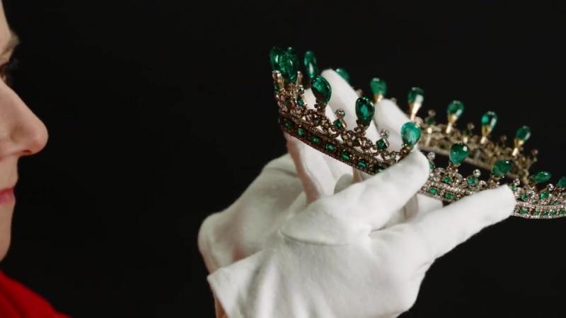 How do you prepare a tiara for display... - Kensington Palace
