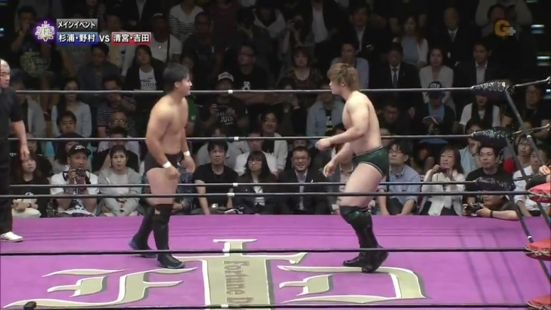 Ayato Yoshida, Kaito Kiyomiya vs. Takuya Nomura, Toru Sugiura (Kenta Kobashi Produce - Fortune Dream 5)