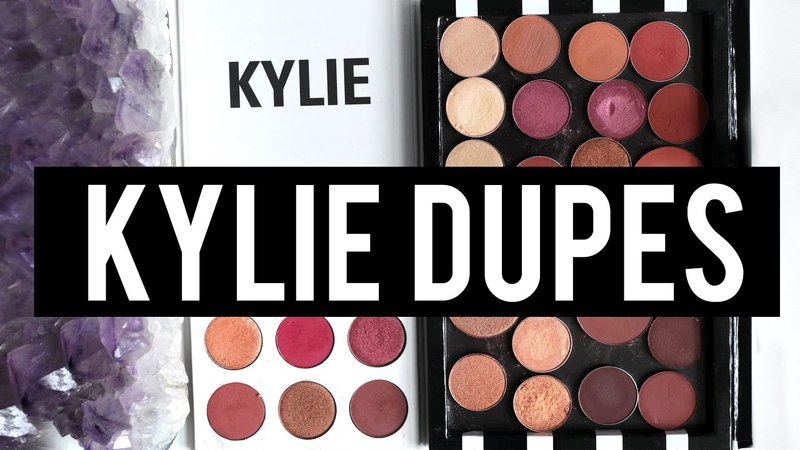 KYLIE BURGUNDY PALETTE: EXACT DUPES For EVERY Shade!   Jamie Paige