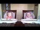 Реакция двойняшек на любимую песню