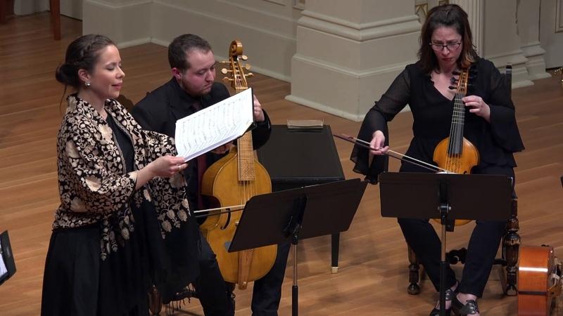 Busnoys: Seule à par moy. Voices of Music, Stefanie True, soprano 4K UHD
