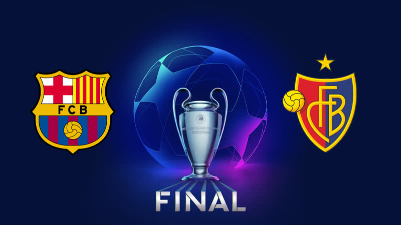 Финал ЛЧ Барселона : Базель