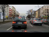 Driving in Berlin, Germany. Авто прогулка по Берлину.