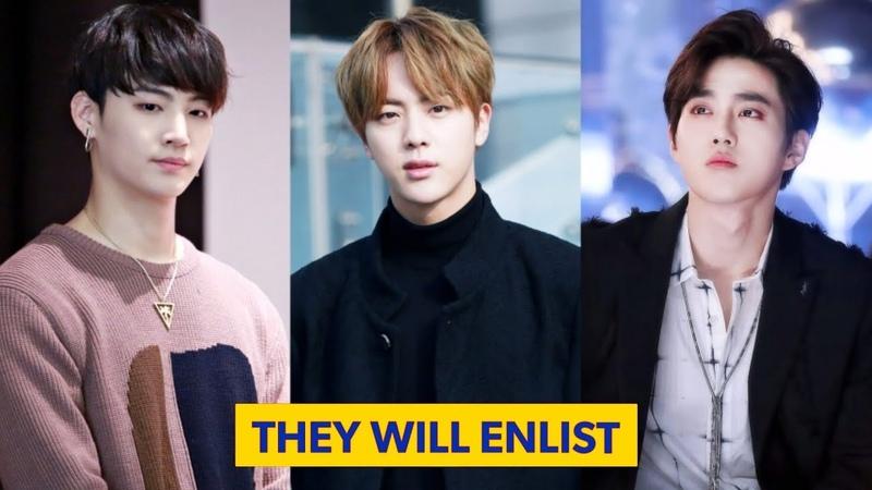 KPOP Idols Que Vão Servir O Exército Coreano Nos Próximos Anos 2019 2025