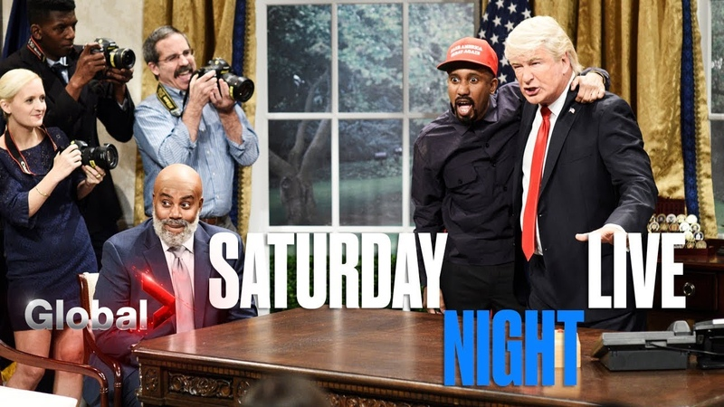 SNL Mocks Kanye West Trump Meeting at White House Cold Open Skit