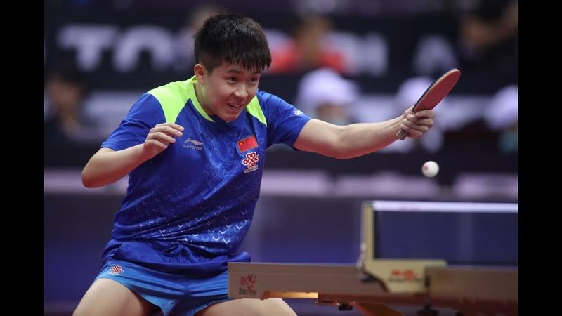 Liang Jingkun vs Wang Chuqin | 2018 Chinese National Games