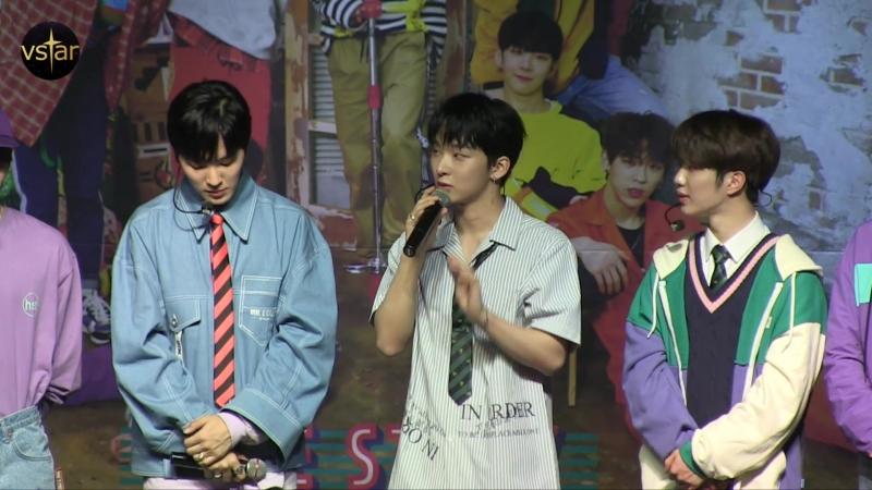 [Vstar] 180523 TOPSECRET (TST) SHOWCASE LOVE STORY разговор про BTS