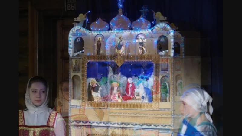 Рождественский праздник в храме Архангела Михаила пос Тургояк 7 января 2019 г