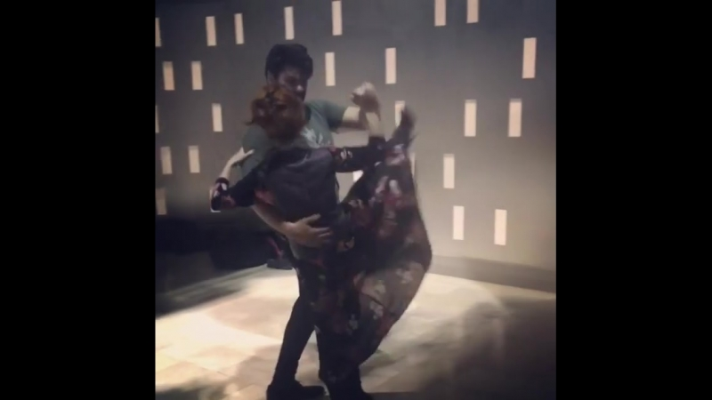 """Ruth Connell on Instagram_ """"Dance yourself dizzy. super fast rehearsal to get to"""