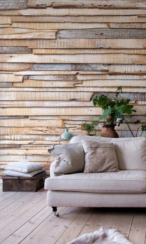 Дерево в оформлении, дизайне стен.