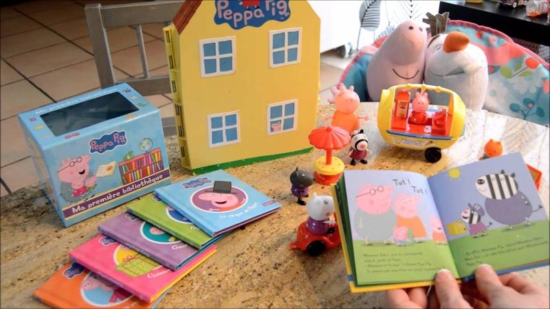 Histoire Peppa a perdu son doudou, 1 jour = 1 histoire racontée pour les petits...