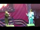 Мишель Фам и Дмитрий Дмитриев(актер,ведущий) -(9 мая 2017 г Сестрорецк)