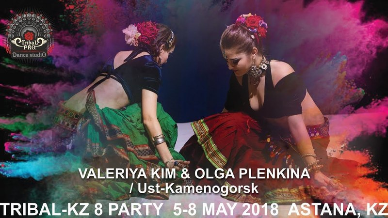 VALERIYA KIM OLGA PLENKINA (Ust-Kamenogorsk) / TRIBAL-KZ 8 PARTY