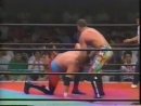 1991 07 06 Johnny Ace Rick Rude vs Joel Deaton Billy Black CLIPPED