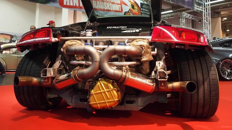 Audi KFZ-Paulitsch Motorsport Tuning R8 Bi-Turbo 2009 V8 4.2L 2xGTX 30 Turbo 750 PS ADV1.7 R20