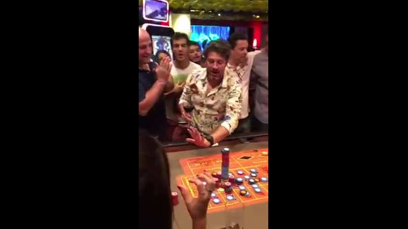 Bets $ 100,000 on roulette at Punta Del Este casino ... and earns $ 3,500,000