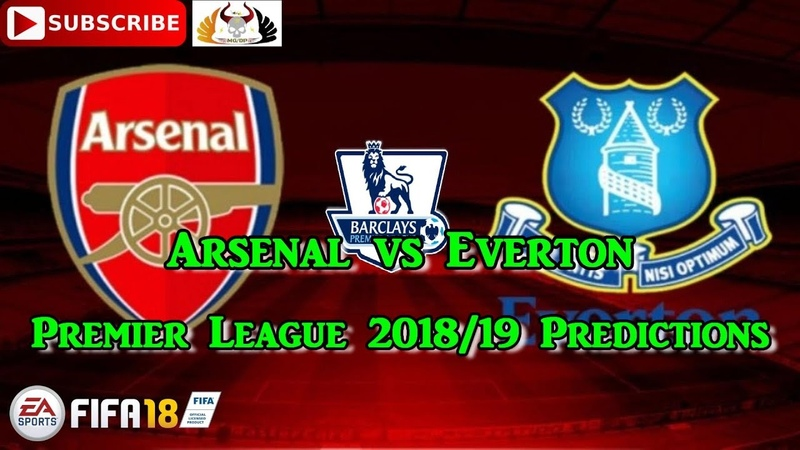 Arsenal vs Everton | Premier League 2018/19 | Predictions FIFA 18