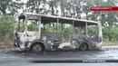 Автобус згорів за лічені секунди, у ньому їхало 20 дітей