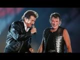 Johnny Hallyday et Eddy Mitchell - Excuse-moi partenaire (Parc des Princes 1993)