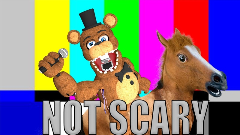 How to make Five Nights At Freddy's Not Scary part 2