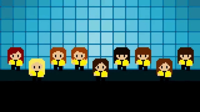8-BIT M/V • Girls' Generation (소녀시대) - Mr.Mr.