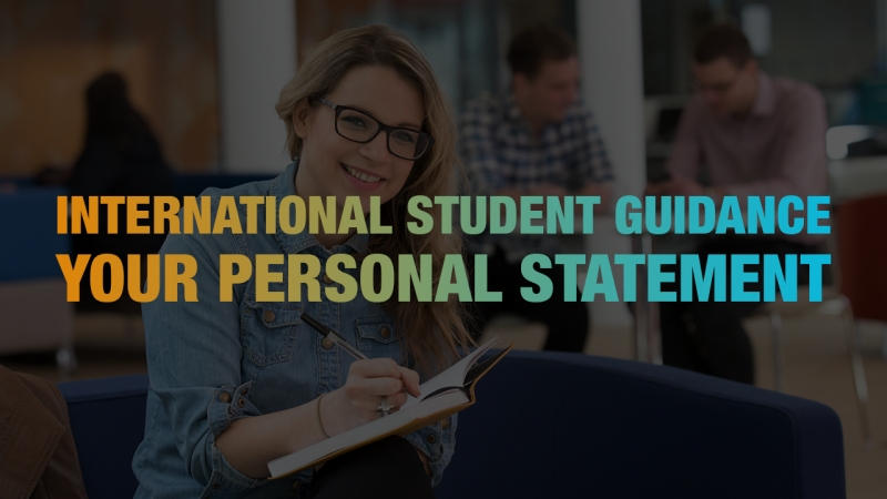International Student Guidance - Your Personal Statement
