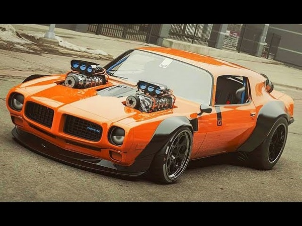 Big ENGINES POWER - MUSCLE CARS SOUND 2019 3