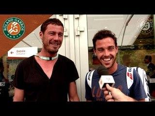 Marco Cecchinato meets Marat Safin - Inside RG I Roland-Garros 2018