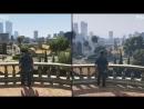 GTA 5 - PS4 vs PS3 ГРАФИКА 2017