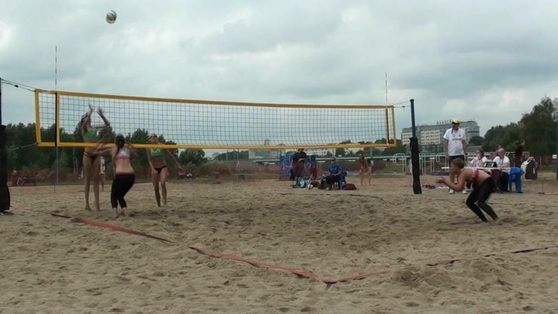 Beach volley Russia Yaroslavl 2018 W 04 Fedyunova-Barsuk and Sokolova-Savina