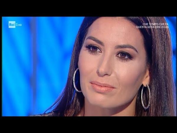 Elisabetta Gregoraci Flavio, il nostro amore e Nathan Falco - Domenica In