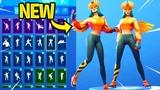 *NEW* SUNBIRD Skin Showcase With Dance Emotes! Fortnite Battle Royale