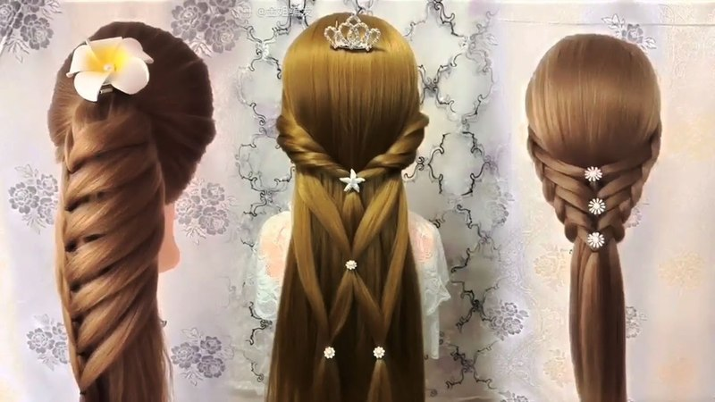The Most Newest and Top Hairstyle Tutorials for THIS WEEK 💗 Best Hairstyles for Girls