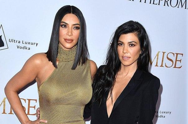 Ким Кардашьян сравнила свою дочь Норт с сестрой Кортни