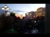 Несогласованная с властями акция памяти жертв пожара в #Кемерово. Москва. Пушкинская площадь.