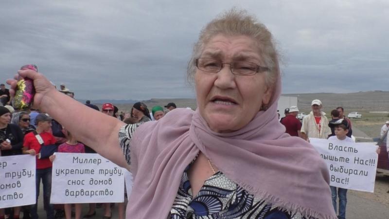 Дагестан: сельчане попросили Васильева не сносить дома ради газовиков