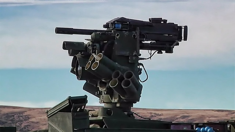 Mk 19 Mod 3 40mm Automatic Grenade Launcher in Action