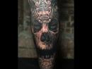 3D татуировка