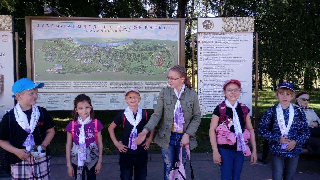 экскурсия в парк Коломенское