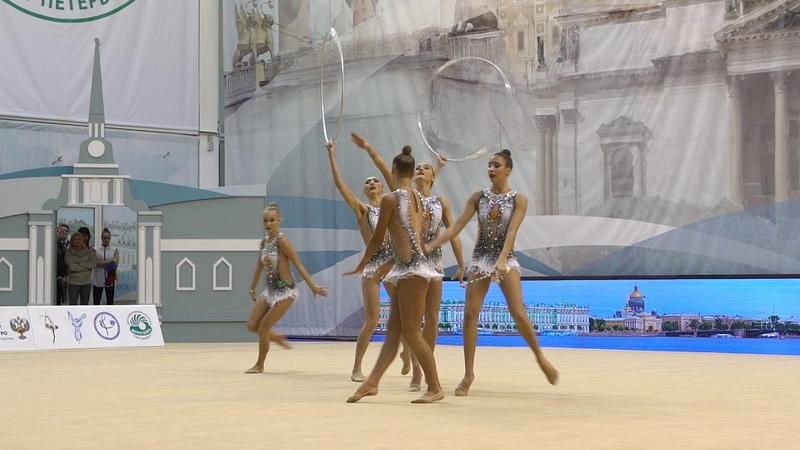 Выступление сборной Санкт-Петербурга на Кубке России 2018