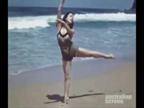 Tamara Toumanova - Bungan's Beach, Sydney (1939-40)