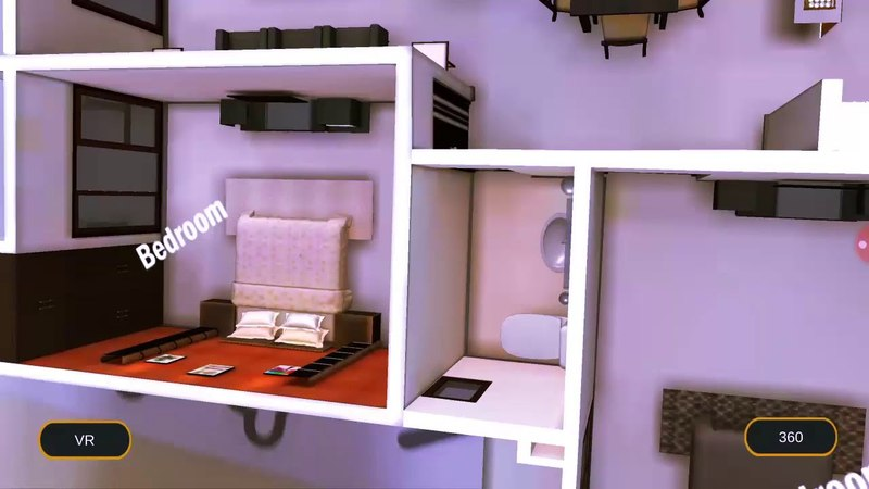 AR-VR For Real Estate | Virtual Reality Home Interior | VR Walk Through