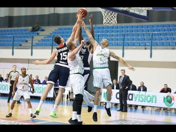 2018-11-21 AEK Larnaca VS. Цмоки-Минск - FIBA Europe Cup Full Game